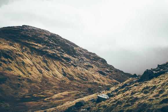 Valley below The Cobbler