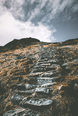 Stone Steps on the Mountain